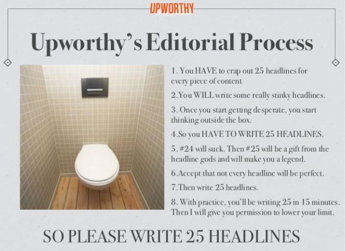 Upworthy Headline Tips